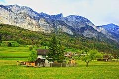 Die Schweiz-Landschaft Lizenzfreies Stockfoto