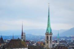Die Schweiz Lausanne Lizenzfreies Stockbild