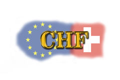 Die Schweiz-Währung Lizenzfreie Stockfotos