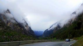 Die Schweiz - Wallis lizenzfreie stockfotos