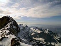 Die Schweizer Alpen Lizenzfreies Stockbild
