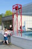 Die Schweizer Wissenschafts-Mitte Technorama bei Winterthur, die Schweiz stockbilder