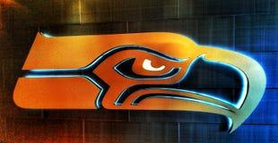 Die Seattle Seahawks lizenzfreies stockfoto