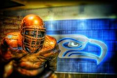 Die Seattle Seahawks lizenzfreie stockfotografie