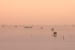 Die Seehütte Lizenzfreie Stockfotografie