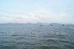 Die Seelandschaft Lizenzfreie Stockfotos