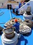 Die Seeleute. Stockfotos