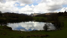Die Seen lizenzfreie stockbilder