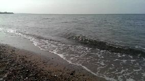 Die Seewelle stock footage