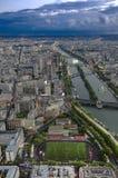 Die Seine, Ader von Paris Stockfotografie