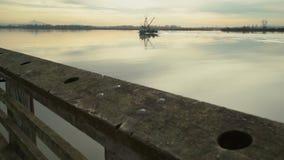 Die Seine-Boot, Fraser River, BC 4k UHD stock video footage