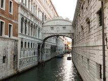 Die Seufzerbrücke in Venedig Lizenzfreies Stockbild