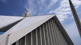 Die Shah Faisal Moschee stockbild
