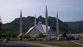 Die Shah Faisal Moschee Stockfotos