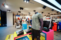 Die Shoppes an den Jachthafen-Schacht-Sanden Lizenzfreies Stockfoto