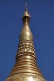 Die Shwedagon-Pagode von Rangun auf Myanmar lizenzfreie stockfotos