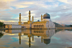 Die sich hin- und herbewegende Moschee Stockfoto