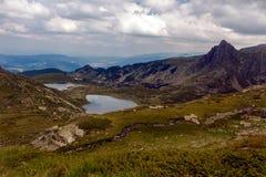 Die sieben Rila Seen, Bulgarien Stockbild