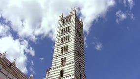 Die Siena-Kathedrale stock footage