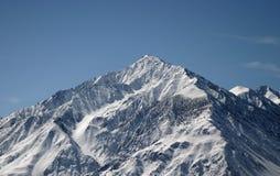 Die Sierra Berge im Winter Lizenzfreies Stockfoto