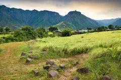 Die Simien-Berge, Äthiopien Stockfoto