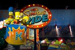 Die Simpsons Fahrt Lizenzfreie Stockfotografie