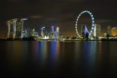 Die Singapur-Skyline Lizenzfreies Stockbild