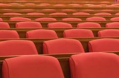 Die Sitze Stockfotos