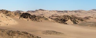 Die Skeleton Küste-Wüste lizenzfreies stockfoto
