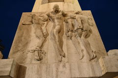 Die Sklaven von Amsterdam Stockbild