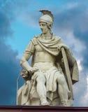 Die Skulptur, die das Gebäude der Admiralität schmückt, St.-Haustier Stockfotos
