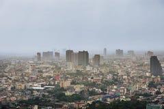 Die Skyline von Bangkok, das Thailand Lizenzfreies Stockfoto