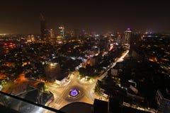 Die Skyline von Colombo lizenzfreie stockfotos