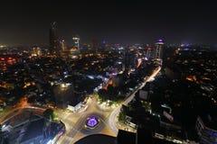 Die Skyline von Colombo stockfotos