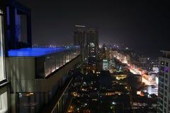 Die Skyline von Colombo lizenzfreies stockfoto