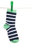 Die Socke stockbild
