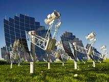 Die Solarbatterie lizenzfreie stockfotografie