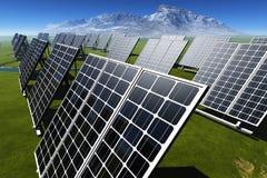 Die Solarbatterie vektor abbildung