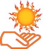 Die Sonne stockfoto