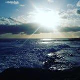Die Sonne lizenzfreie stockfotos