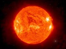 Die Sonne stock abbildung