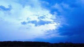 Die Sonne geht, dann Mond unter Geschossen auf Kennzeichen II Canons 5D mit Hauptl Linsen stock video