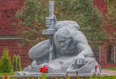 Die sowjetische Art Brest, Weißrussland lizenzfreie stockfotografie