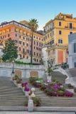 Die Spanisch-Jobstepps in Rom, Italien stockfotografie