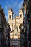 Die Spanisch-Schritte in Rom lizenzfreies stockfoto
