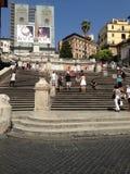 Die spanische Treppe Stockbild