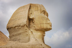 Die Sphinx Stockfoto