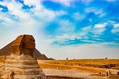 Die Sphinx in Kairo, Ägypten Lizenzfreies Stockfoto