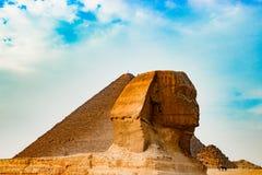 Die Sphinx in Kairo, Ägypten Lizenzfreie Stockfotos