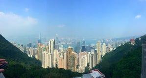 Die Spitze auf Kowloon Lizenzfreie Stockfotografie